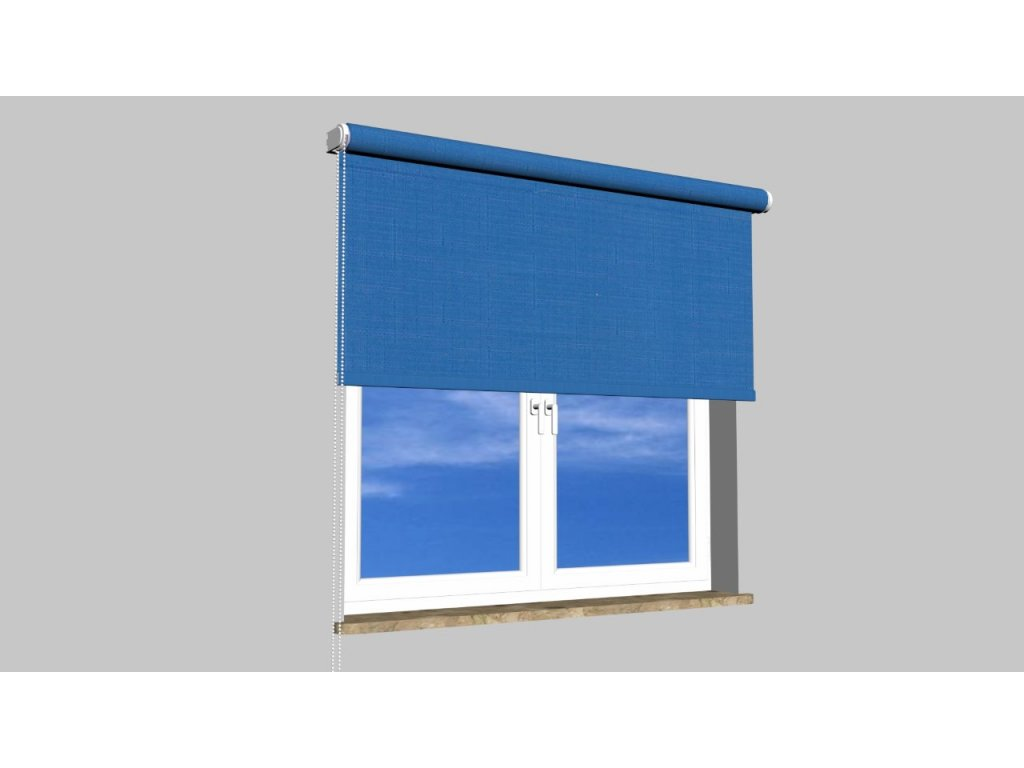 Roleta na zeď Polyester balkon 2075