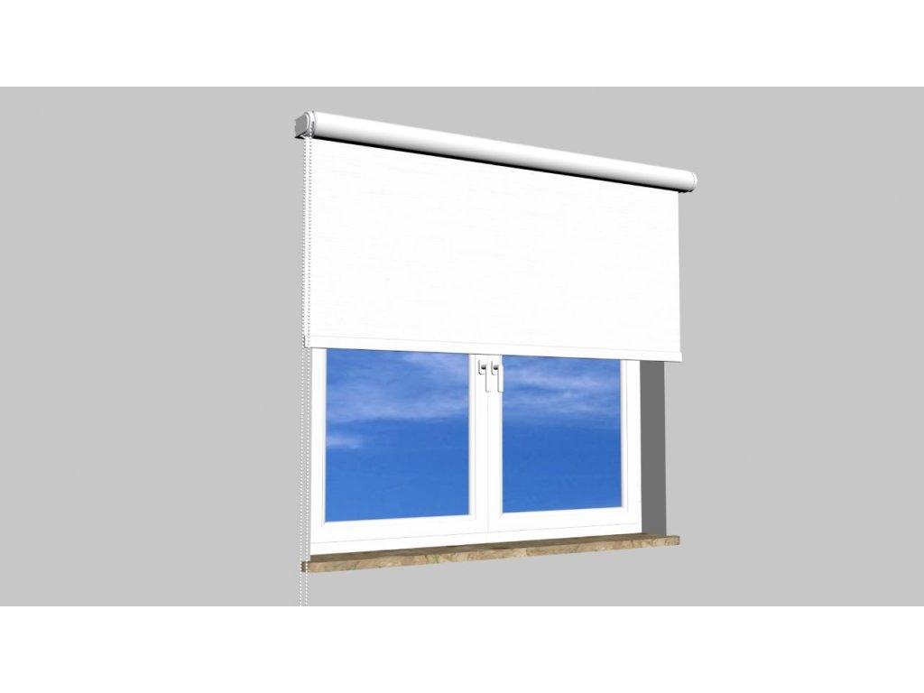 Roleta na zeď Polyester balkon 800