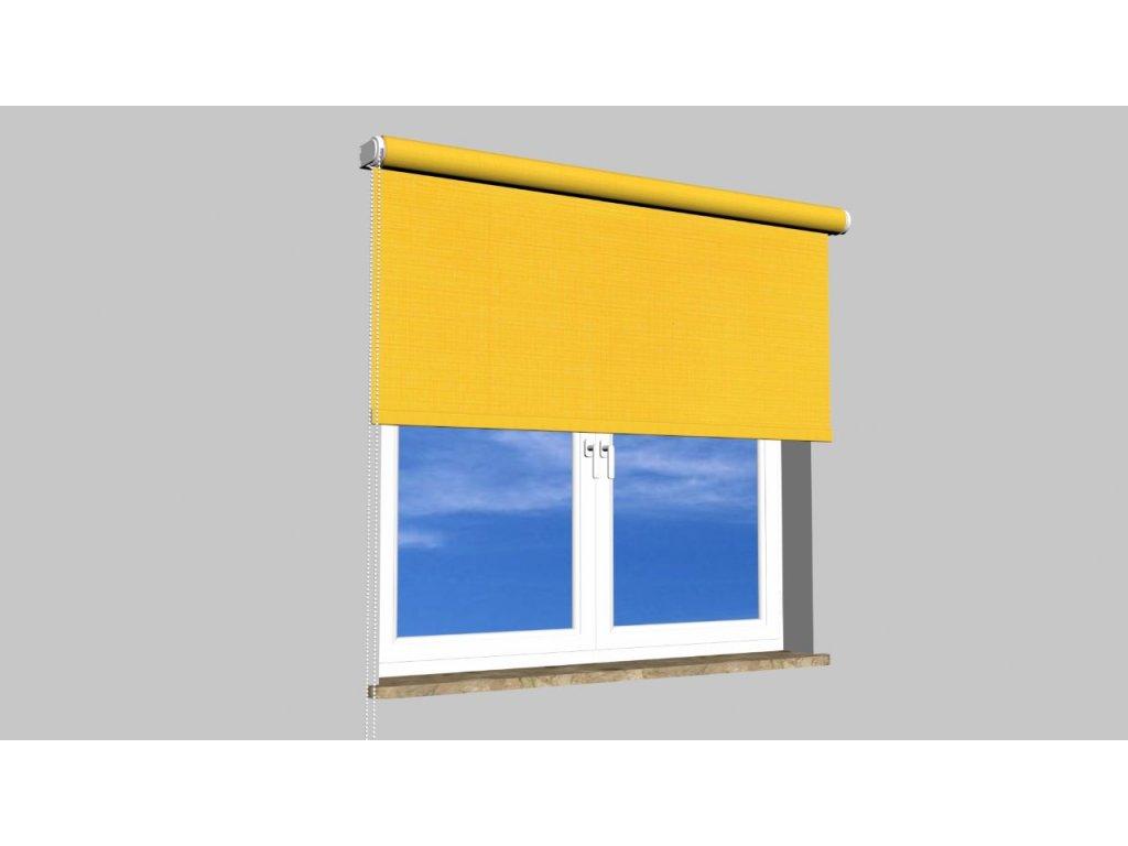 Roleta na zeď Polyester balkon 858