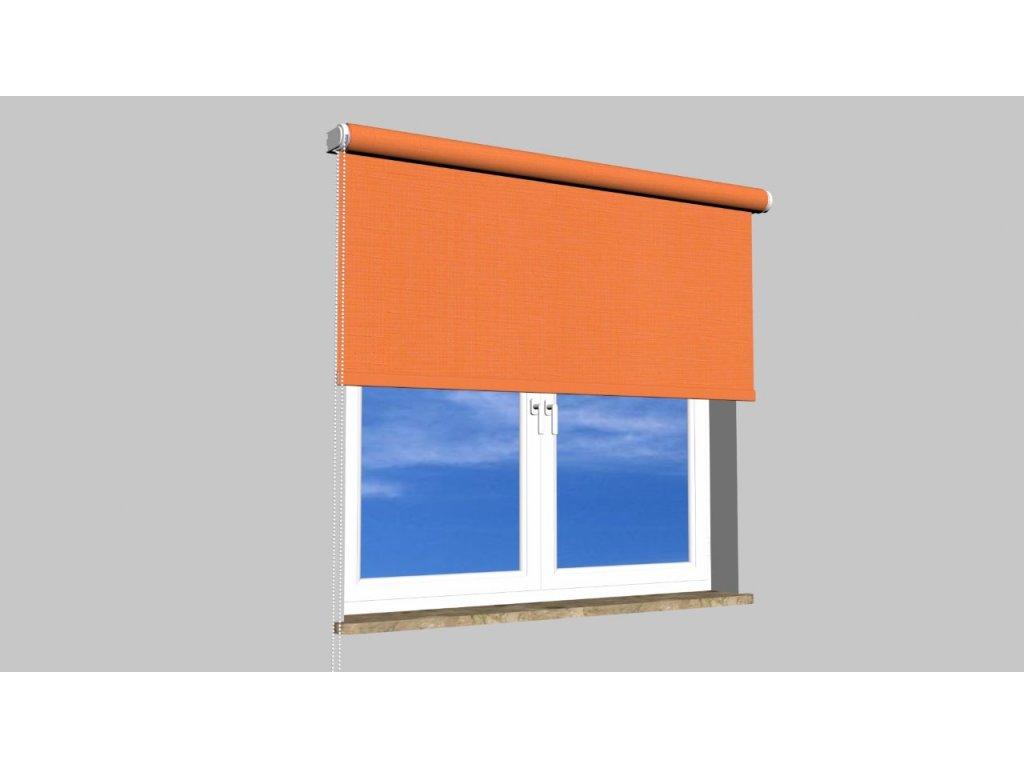 Roleta na zeď Polyester balkon 860