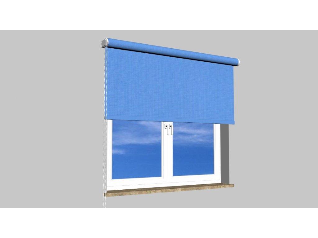 Roleta na zeď Polyester balkon 874