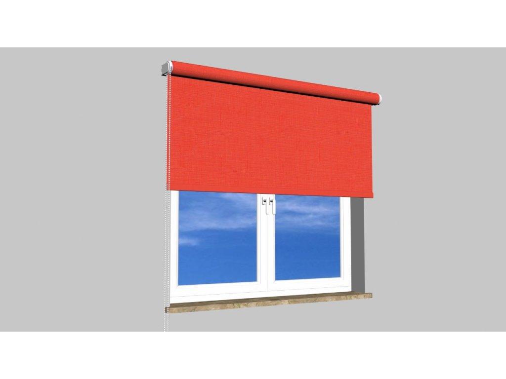 Roleta na zeď Polyester balkon 888