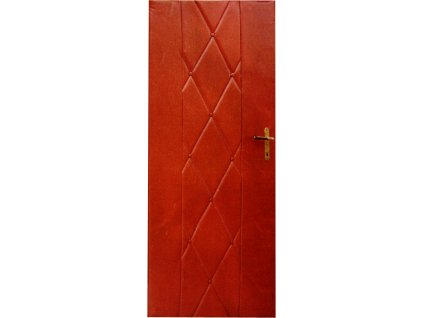 Čalounění dveří 90 x 200 hnědá