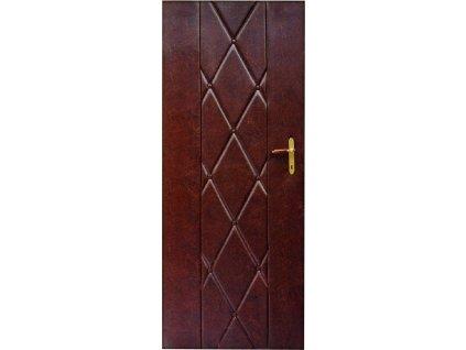 Čalounění dveří 90 x 200 tmavě hnědá