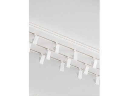 Garnýže kolejnicová PVC trojřadá