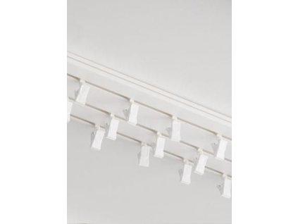Garnýže kolejnicový komplet PVC trojřadý