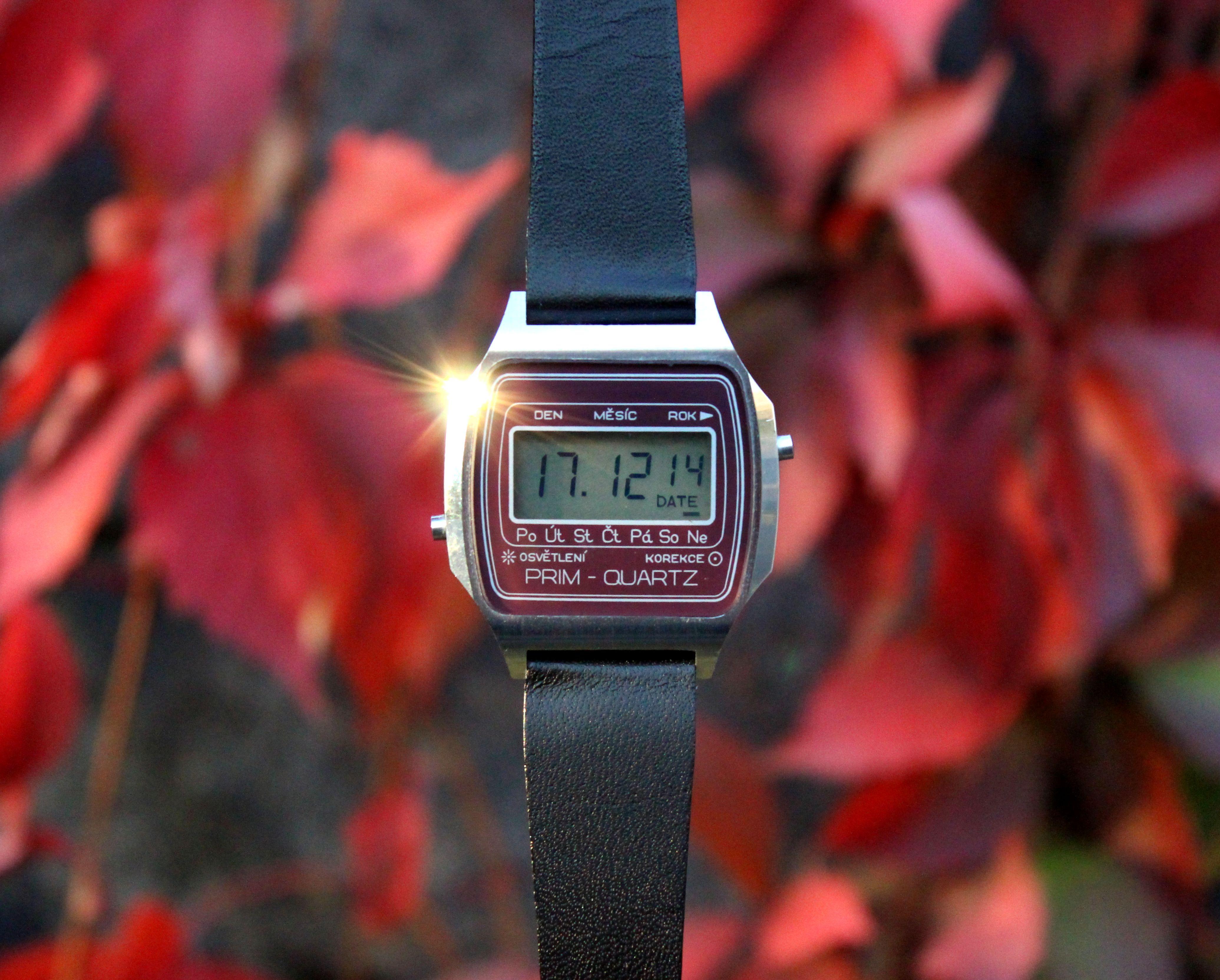 Historie digitální hodinek PRIM Quartz se sovětským srdcem