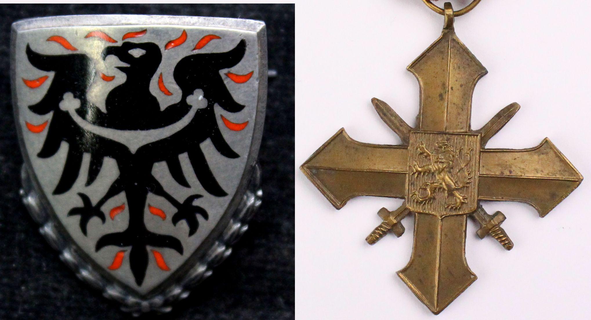 vyznamenání a medaile