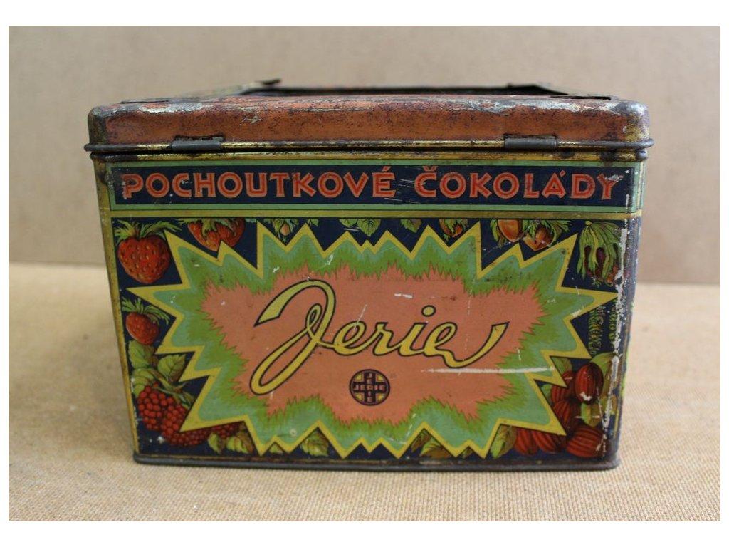 Plechová krabice bombony čokoláda x122 4
