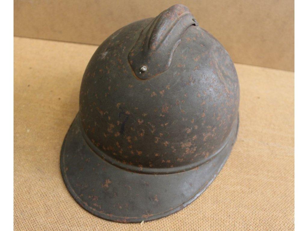 vojenská pěchotní helma Itálie x125 5