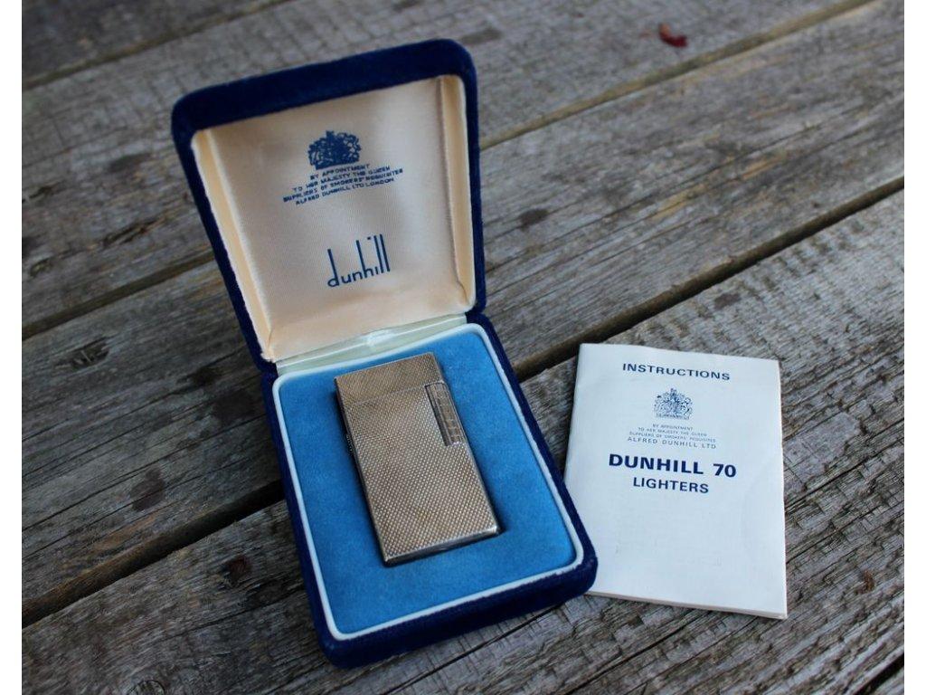 Zapalovač DUNHILL 70 s krabičkou x170 1