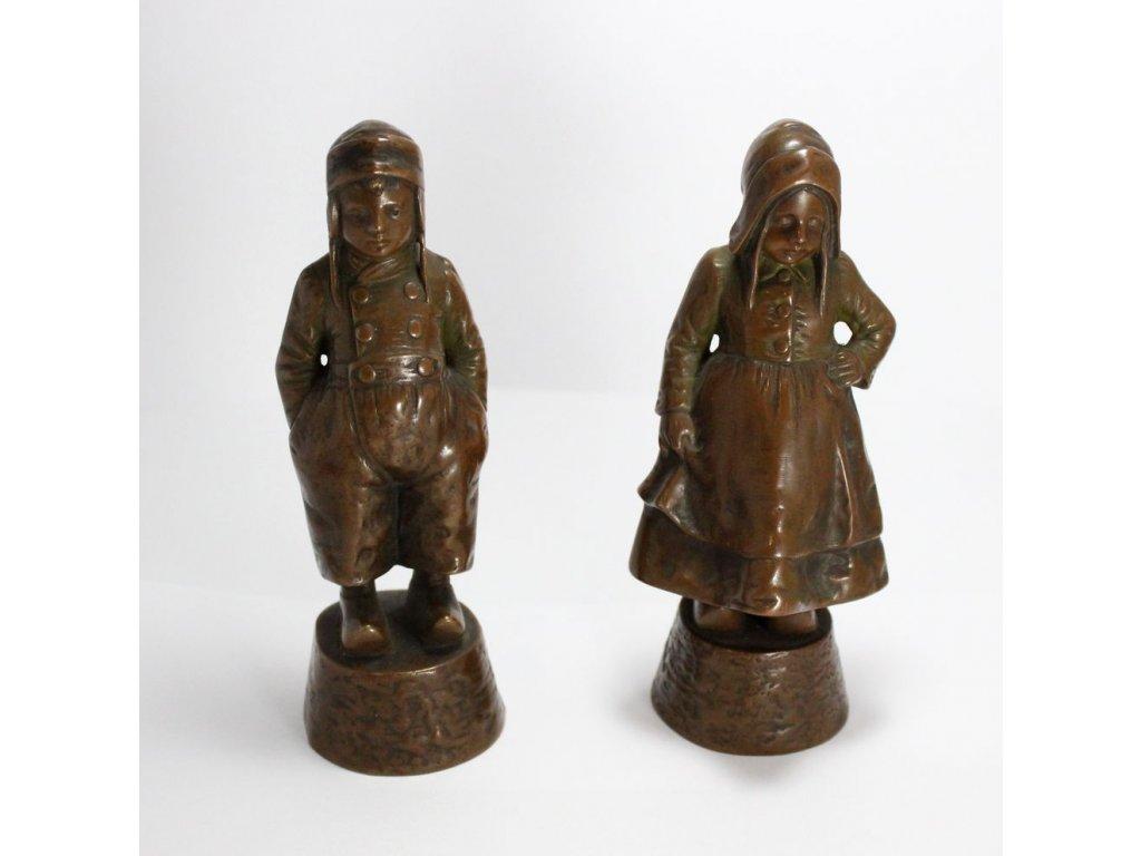 bronzové sošky děti x188 14