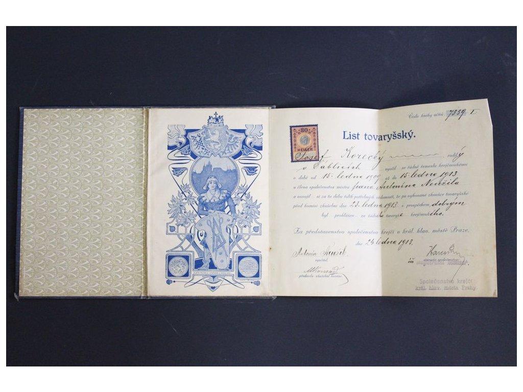 List tovaryšský x201 1