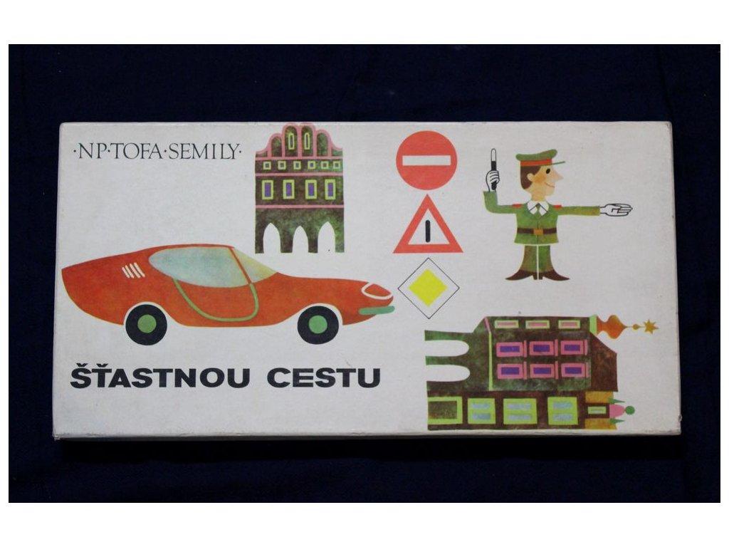 Desková hra Štastnou Cestu x209 1