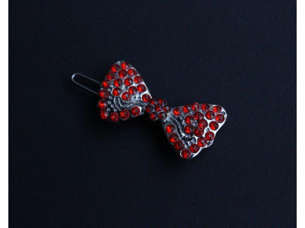 brož červené kamínky x132 4 1