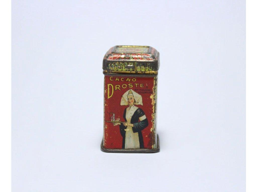 Malá plechovka Cacao Droste cca 5 cm x241 3