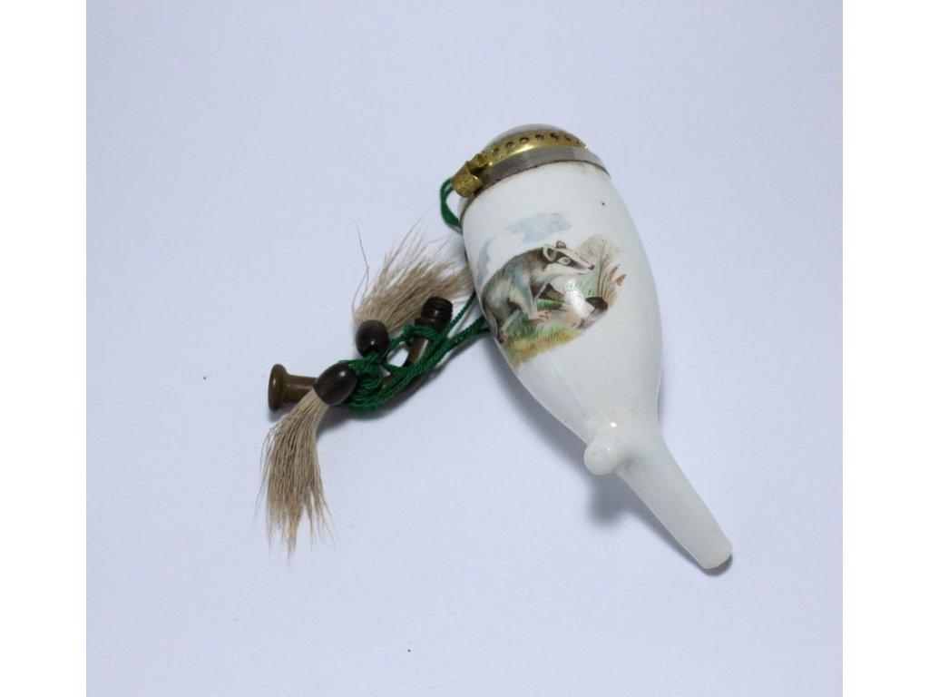 Porcelánová dýmka jezevec x256 3