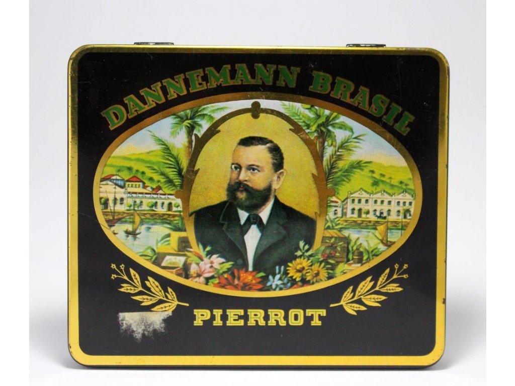 Plechová krabička Dannemann Brasil Pierot x260 6