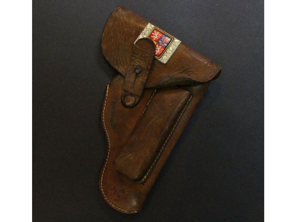 Kožené pouzdro od pistole x270 8
