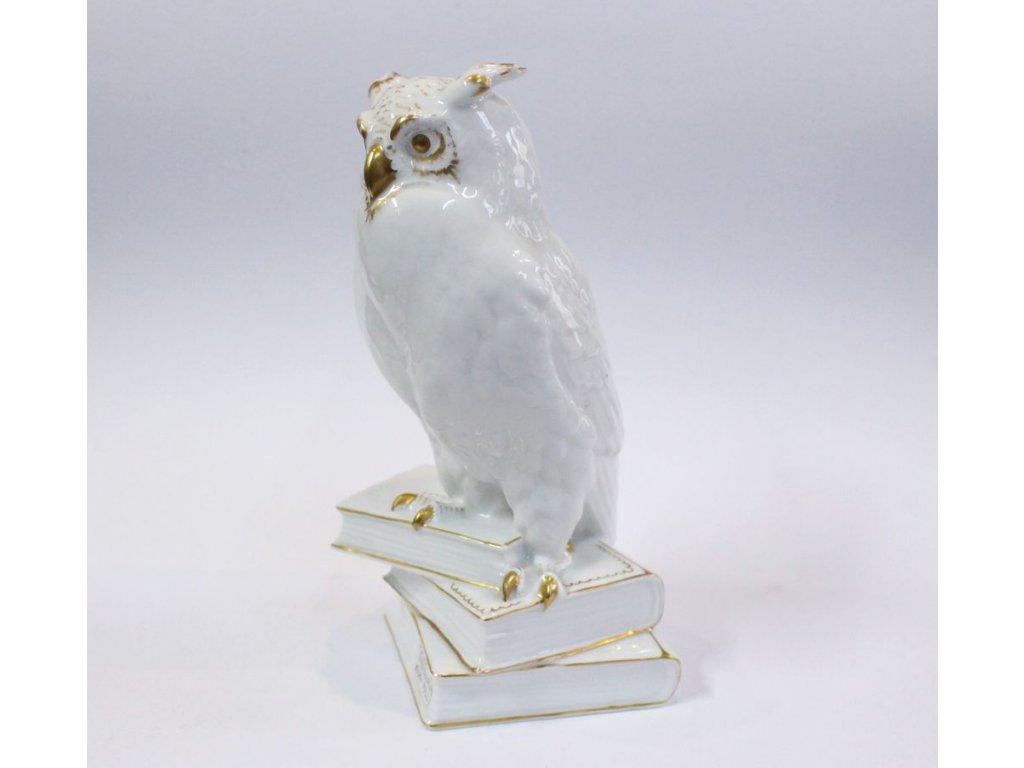 Porcelánová soška Sova PULS x185 1