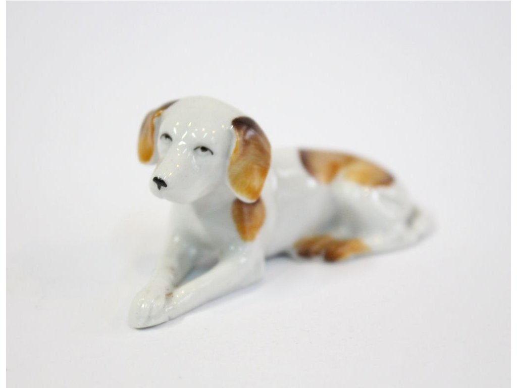 Soška porcelán Pes x303 1