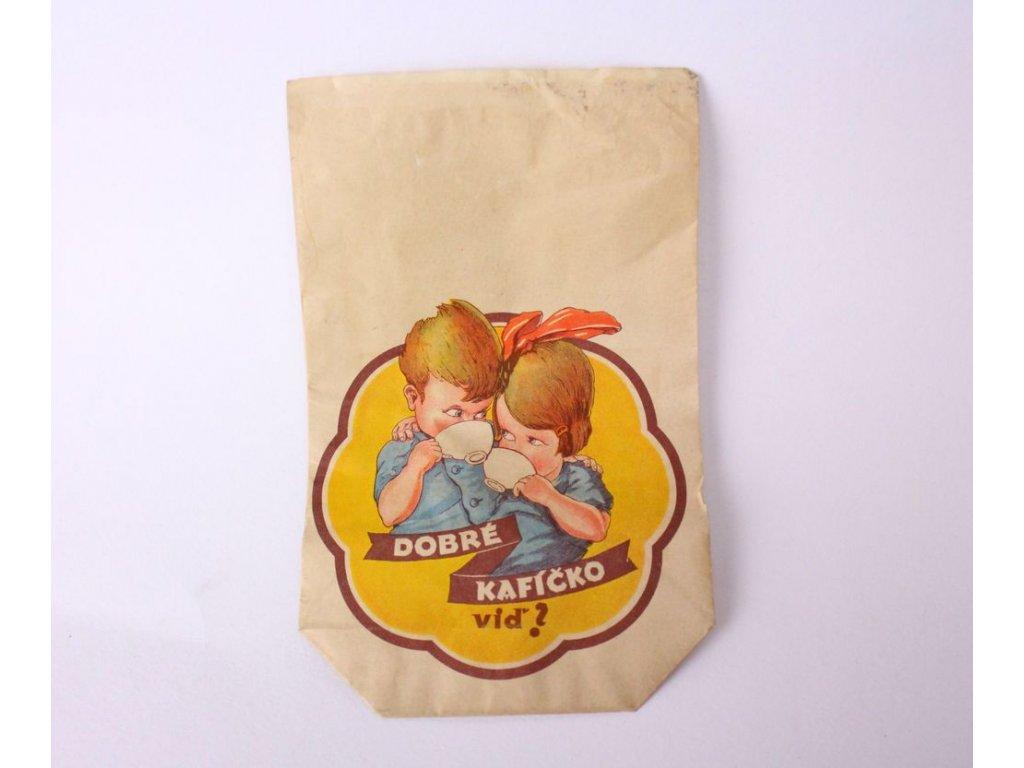 Papírový pytlík káva Josef Novotný x315 1