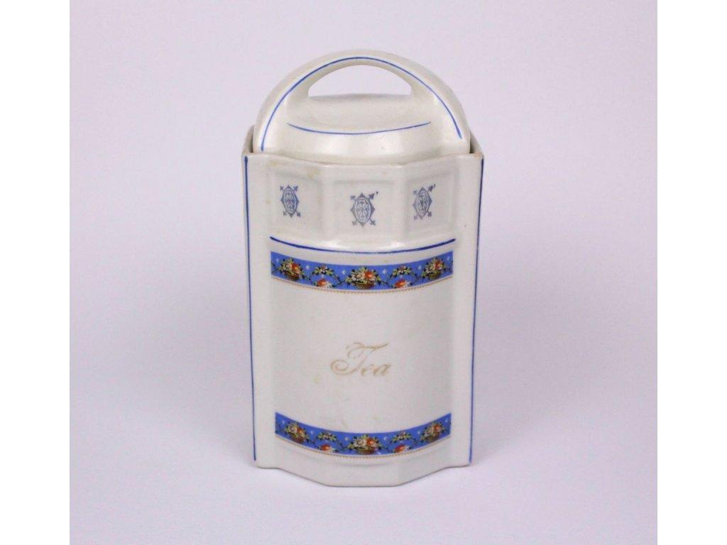 Porcelánová dóza na čaj GERMANY x336 7