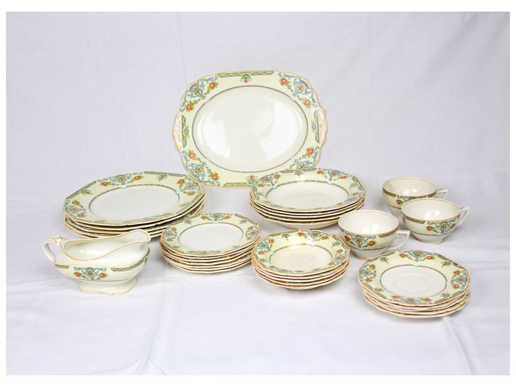 Anglický porcelán W.H Grindley sada x337 3
