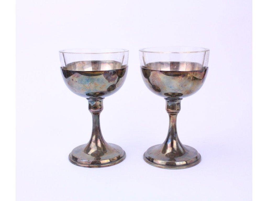 Masivní kombinované pohárky se sklem x360 4