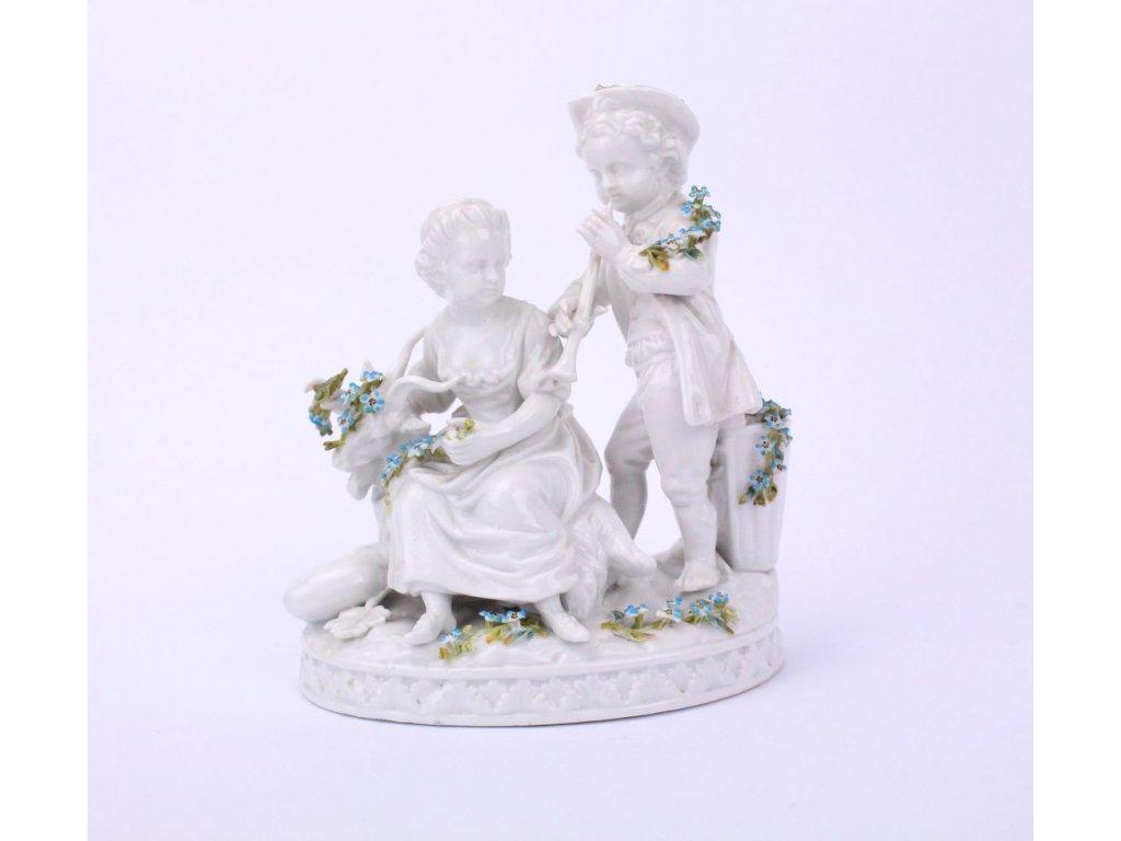 Porcelánový soška x361 2