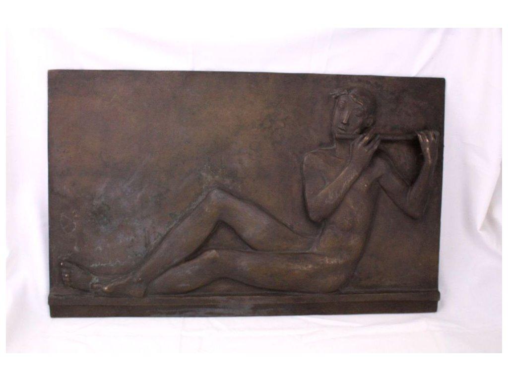 Bronzová plastika Cyril Zatloukal x363 1