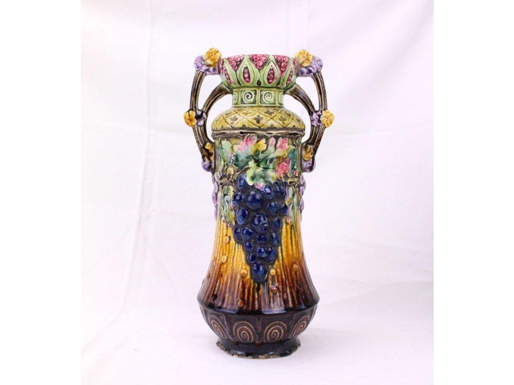 Váza secesní x375 2