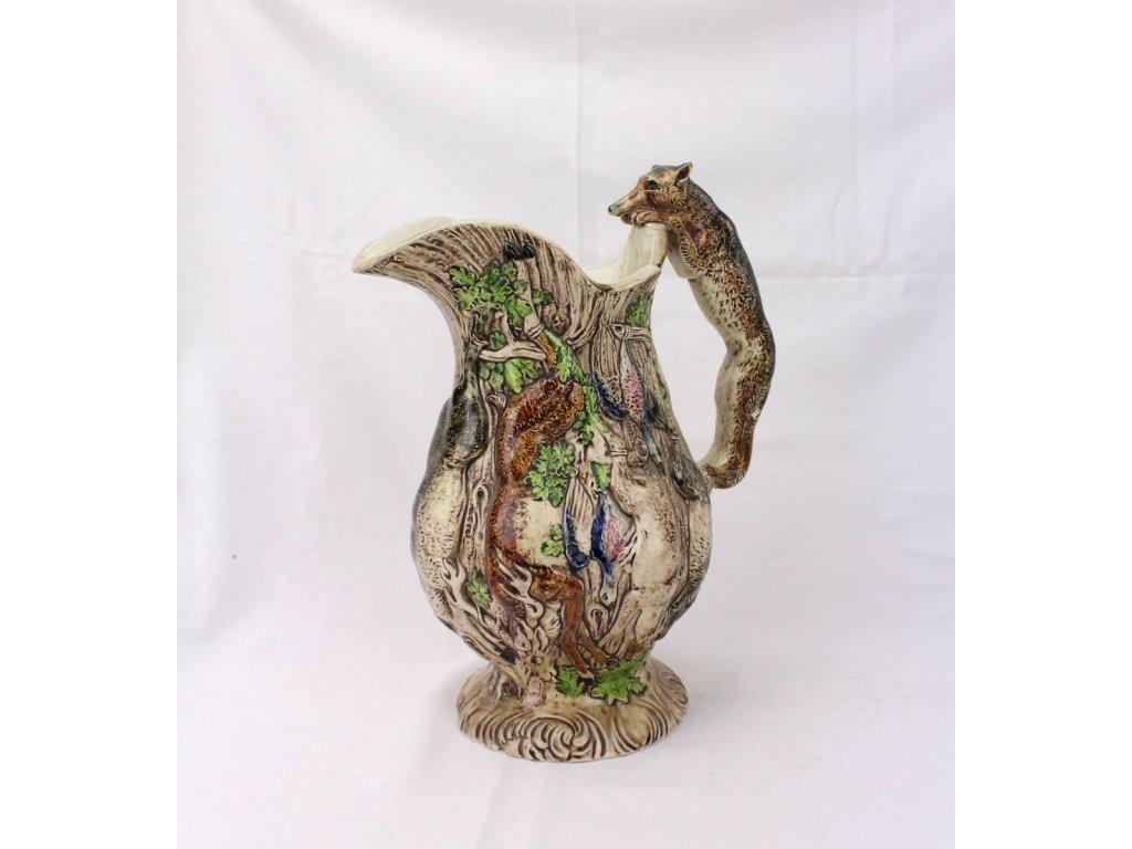 Lovecký džbán porcelán x376 12