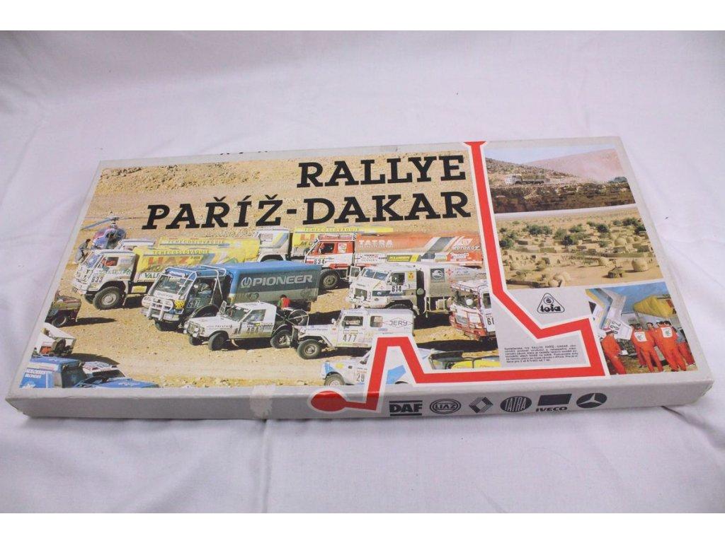 Stolní hra Rallye Paříž DAKAR x380 17