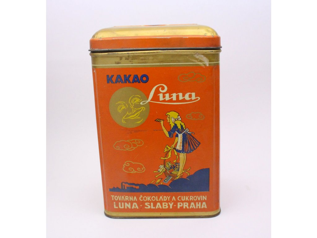 Plechová krabice bonbony LUNA x402 10