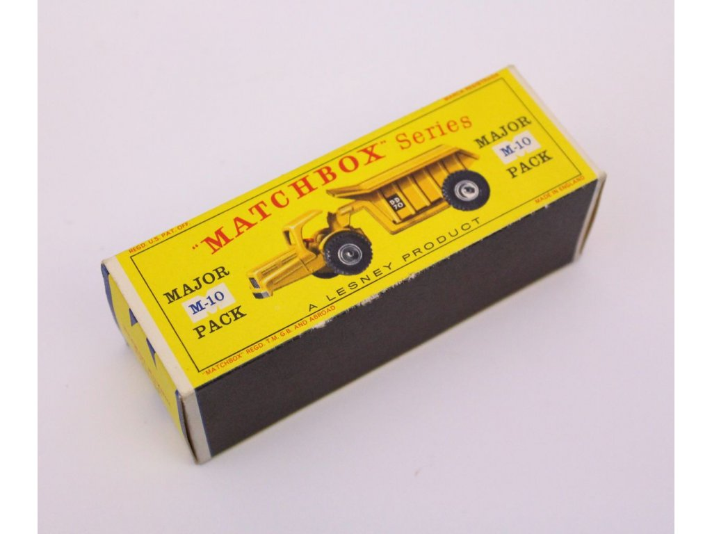Matchbox krabička major m 10x x424 2