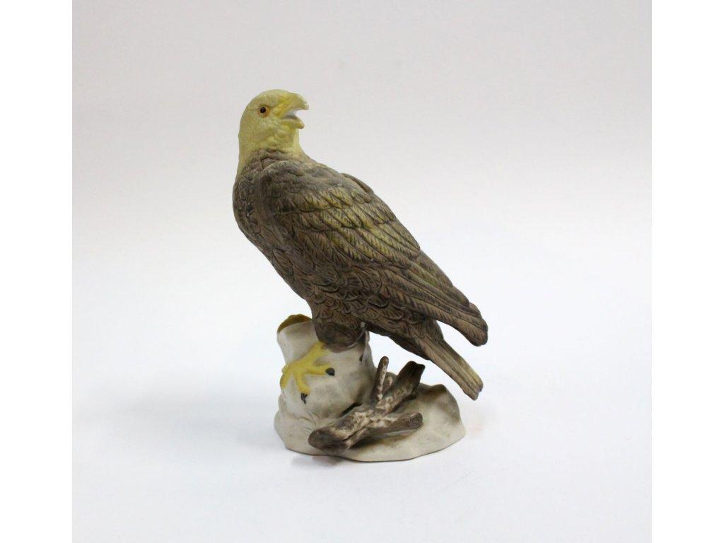 porcelán neglaz pták dravec x444 1