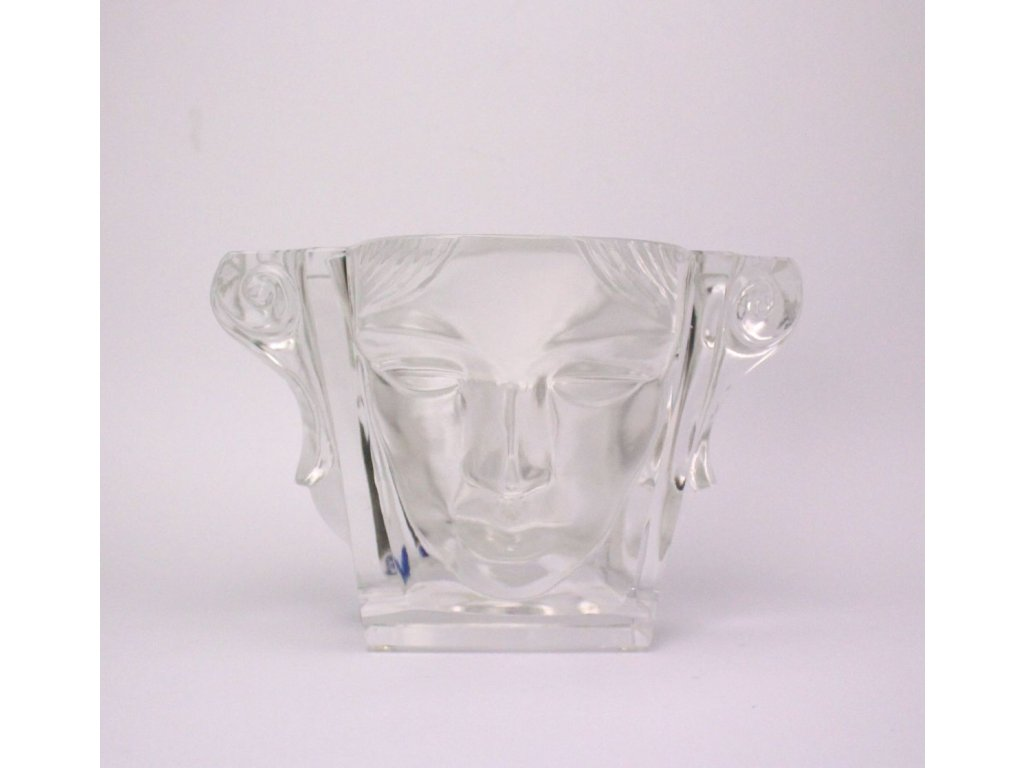 váza sklo ERPET CRYSTAL František Halama signováno x449 1