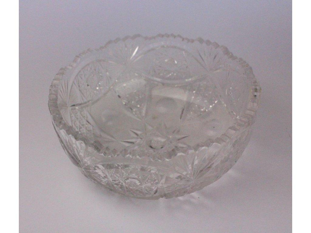 miska broušená bohemia crystal prům 20 cm x532 3