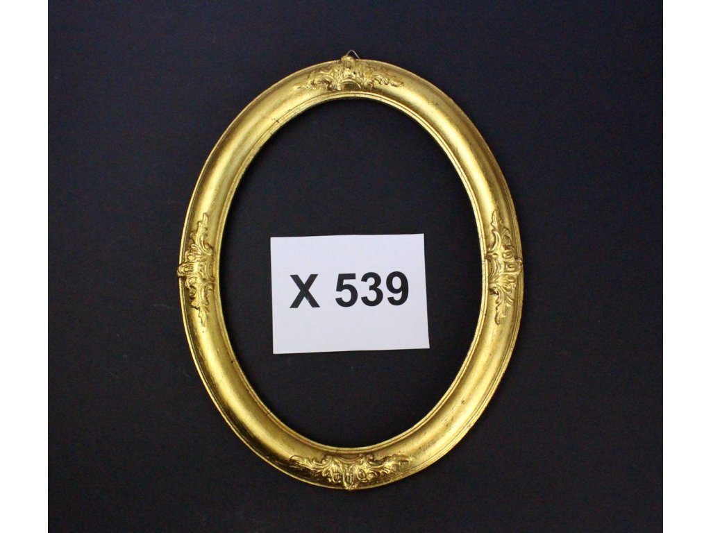 Starý rám zlacený plátkovým zlatem x539 1
