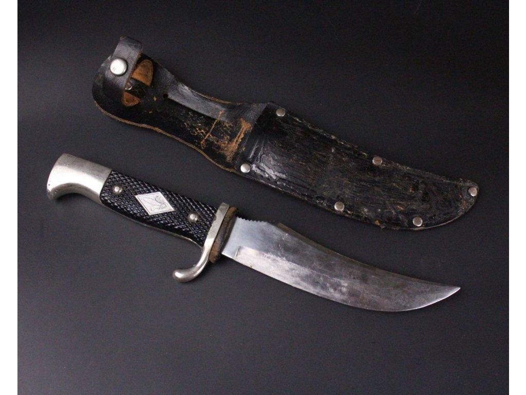 Skautský Nůž v pouzdře Buffallo SOLINGEN x576 13