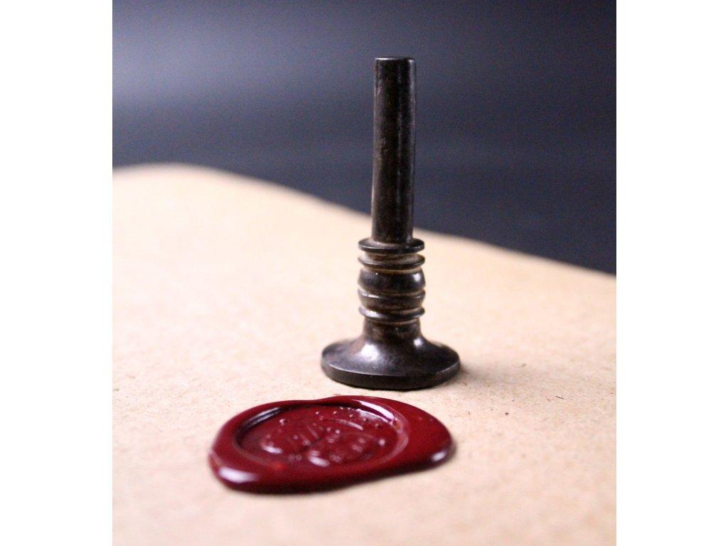 Železné pečetítko x591 5