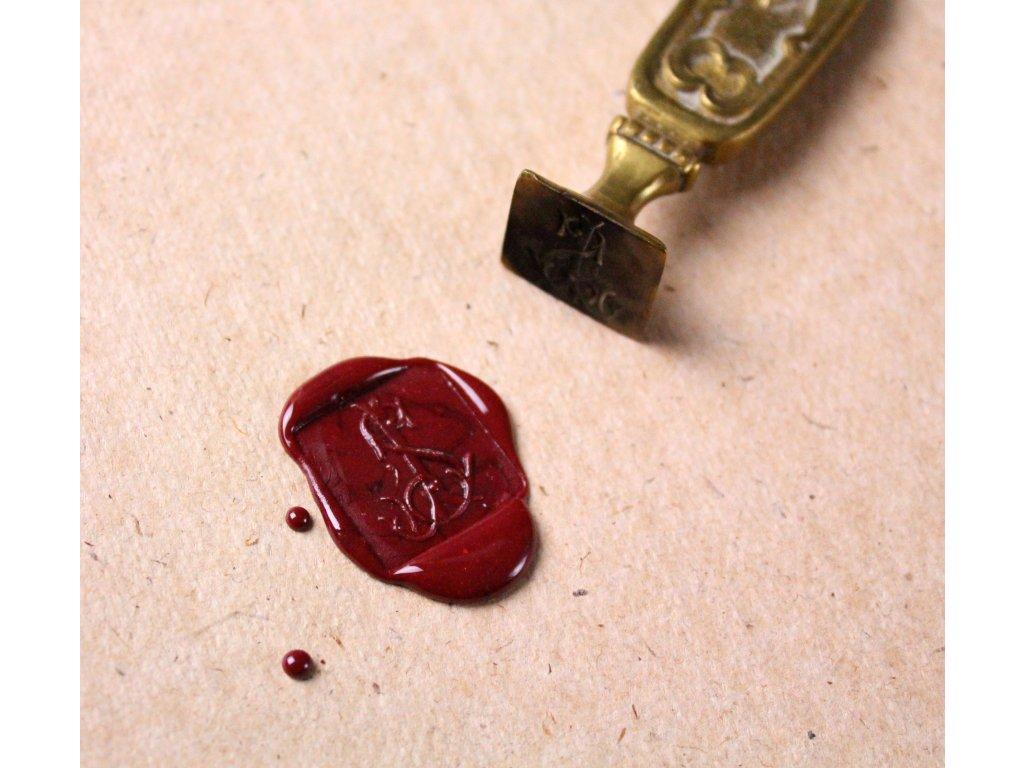 Mosazné pečetítko x592 9