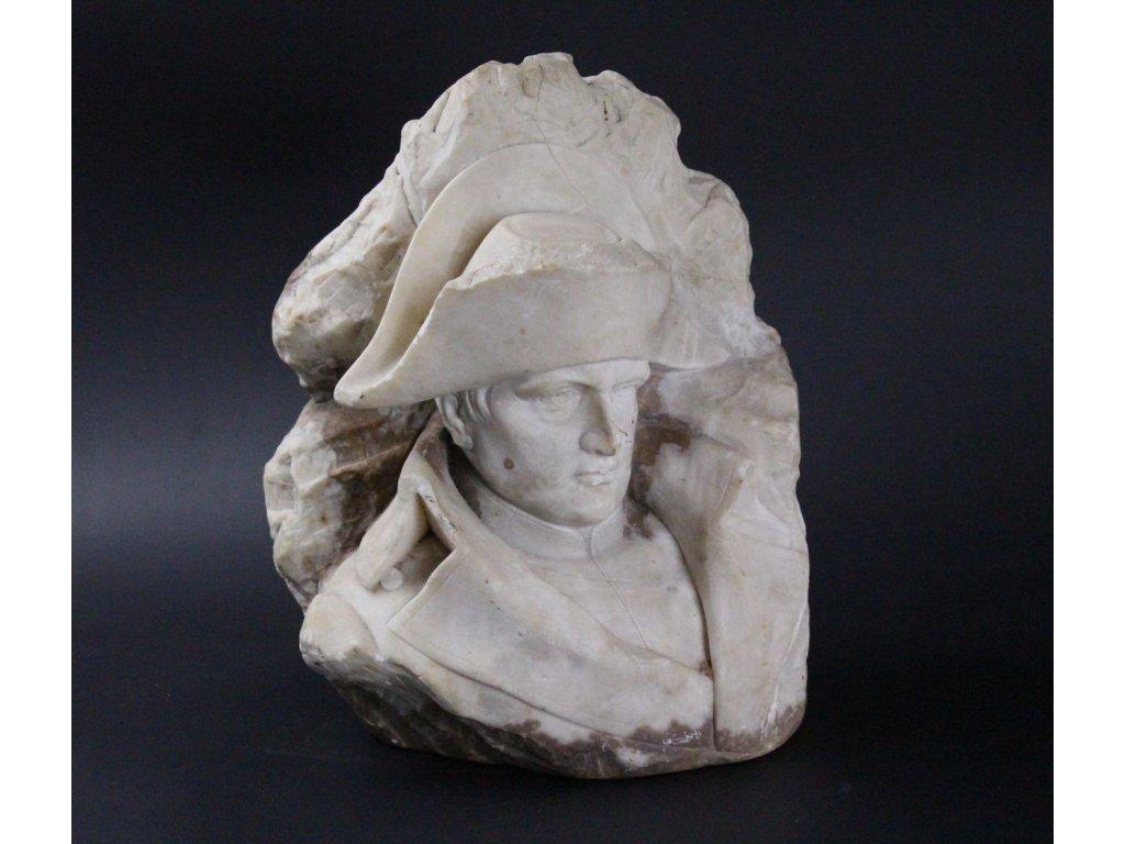 Socha Napoleon Kochendörfer alabast x599 7