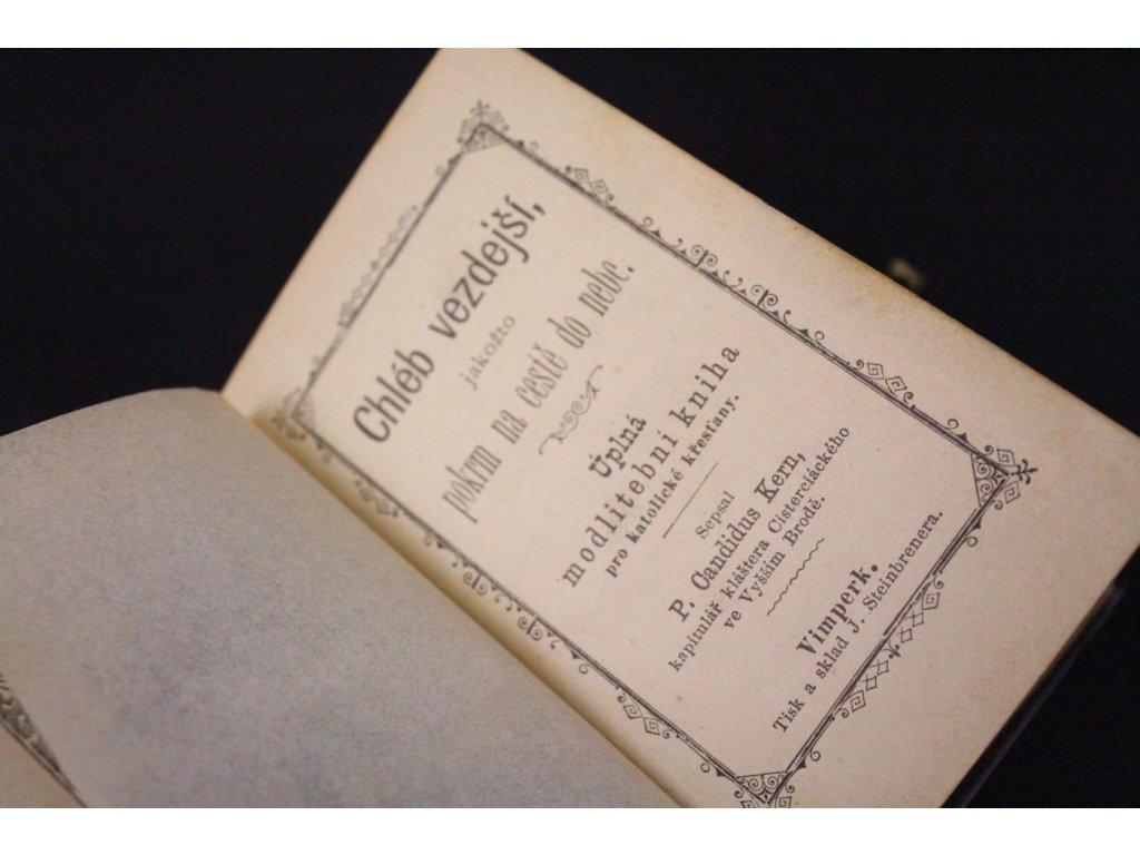 Modlitební knížka s perletí x614 5
