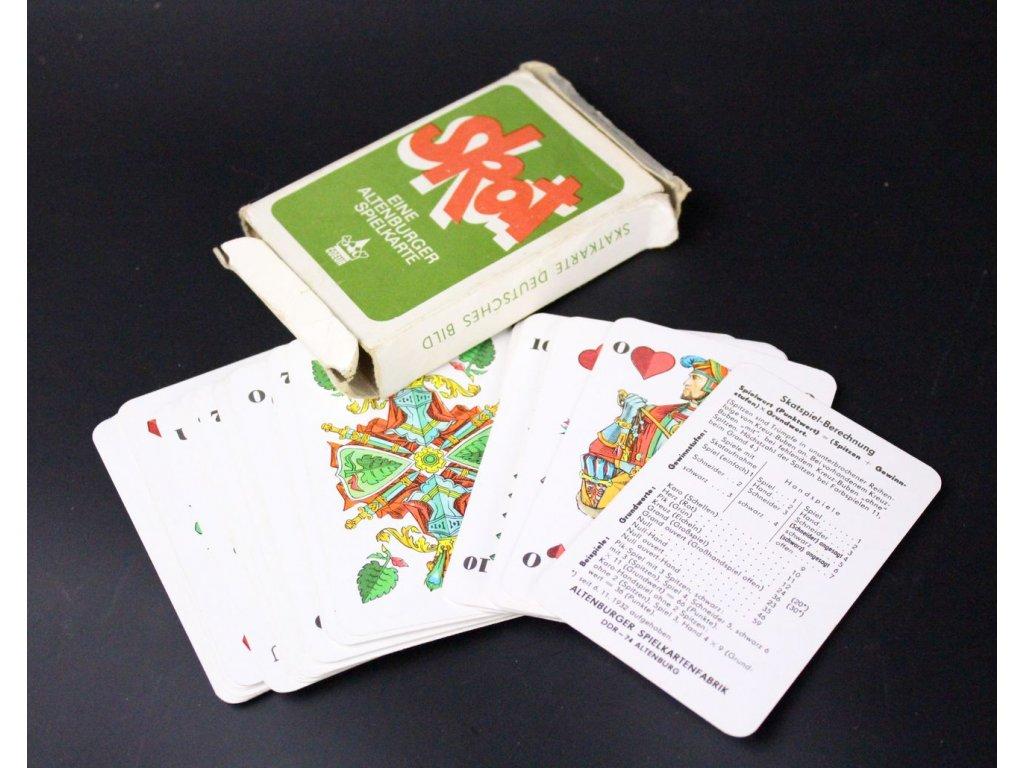 Hrací karty SKAT x616 1