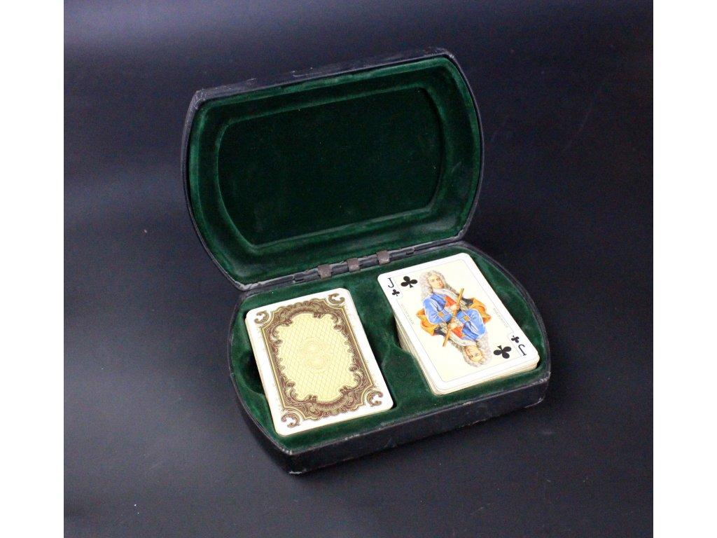Hrací karty panovníci x619 10