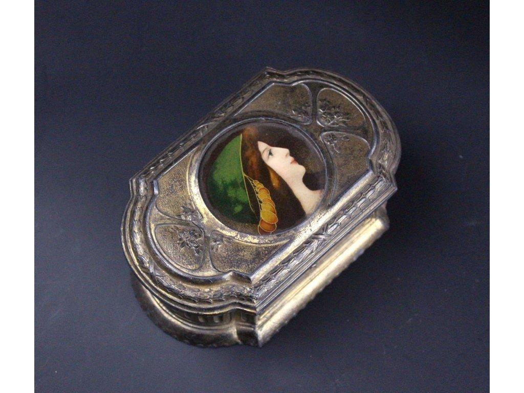Starožitná šperkovnice x620 23 1