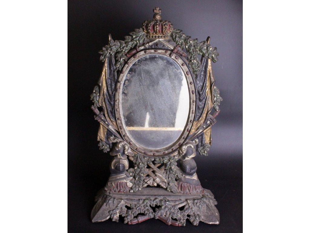 Litinové zrcadlo x631 12