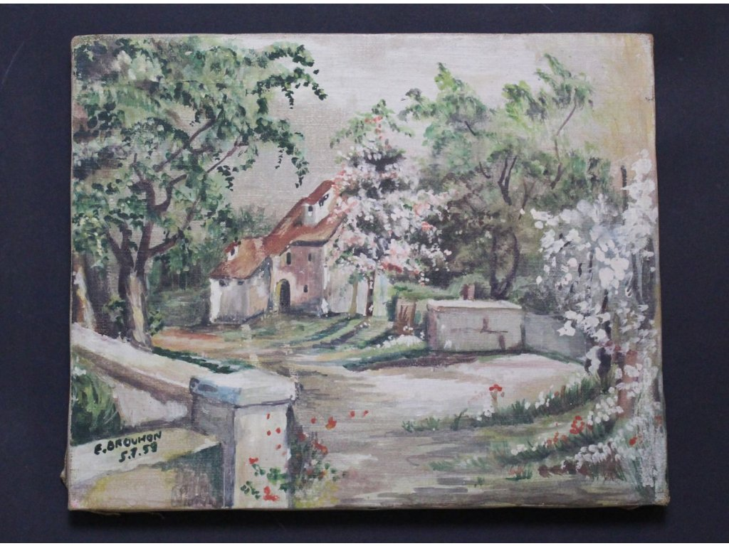 Obraz Krajinka E. Brouhon x656 1